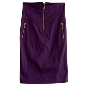 Gorgeous Marciano Purple High Waisted Skirt,Size 6
